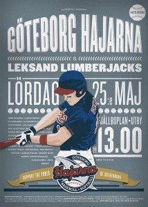 Gothenburg Sharks vs Leksand Lumberjacks 25:th of May 2013.